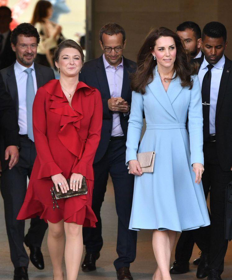 Foto: La duquesa de Cambridge y la gran duquesa heredera de Luxemburgo