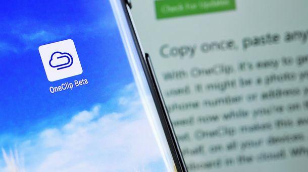 Foto: OneClip, la sorpresa de Microsoft que permite copiar en el PC y pegar en el móvil