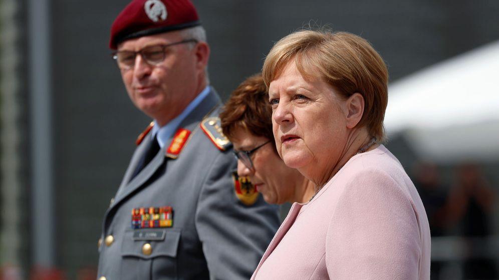 Foto: La canciller Angela Merkel. (Reuters)