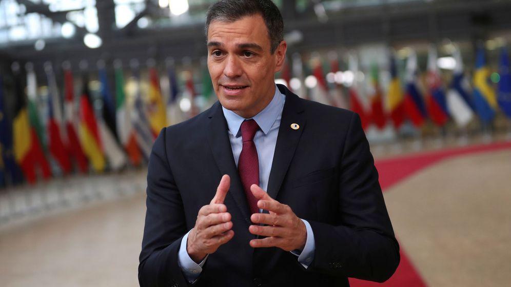Foto: El presidente del Gobierno, Pedro Sánchez, en la cumbre europea. (Reuters)