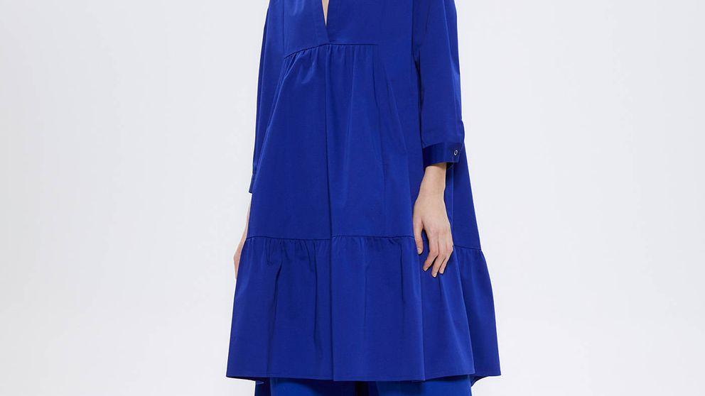 Sfera tiene un vestido del azul más vivo y elegante que hemos visto
