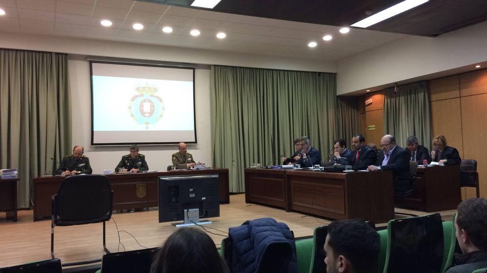 Foto: El juicio contra los altos cargos del Ejército se ha desarrollado en el Tribunal Militar Central desde el pasado 23 de febrero. (RRB)