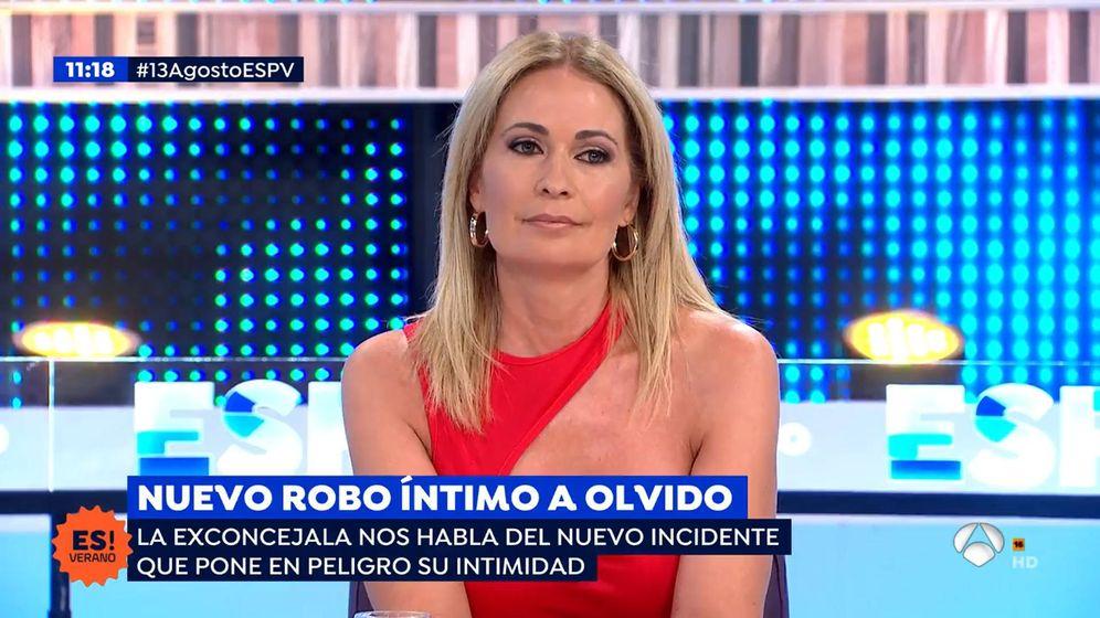 Foto: Olvido Hormigos, en 'Espejo Público'. (Antena 3)