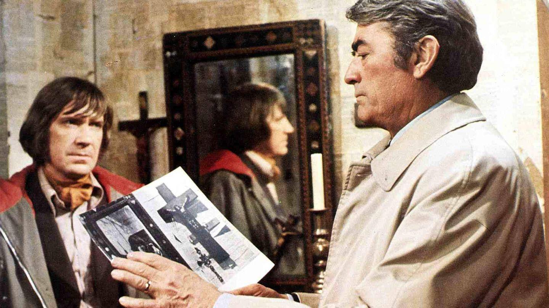 Gregory Peck y David Warner, en 'La profecía'. (CP)