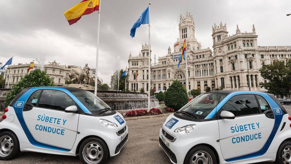 Las movilidad compartida, lista para salir de números rojos con Madrid Central