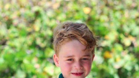Las fotografías del cumpleaños de príncipe George (con felicitación de Meghan incluida)
