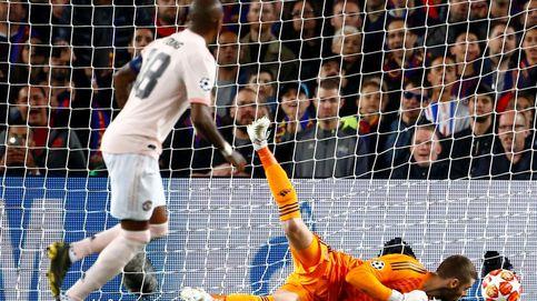 La cantada de David De Gea en el segundo gol de Messi al Manchester... y los 'memes'
