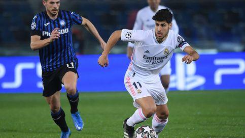 El nuevo bache de Marco Asensio: apagado, sin gol y cuestionado por Zidane