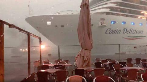 La polémica se aviva en Venecia: un crucero sin control roza el puerto y siembra el pánico