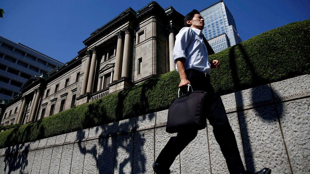 Foto: El Banco de Japón en Tokio (Japón). (Reuters)