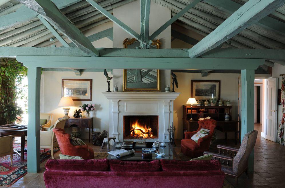 Foto: ¿Te imaginas sentarte junto al fuego en esta finca toledana? (Cortesía Valdepalacios)