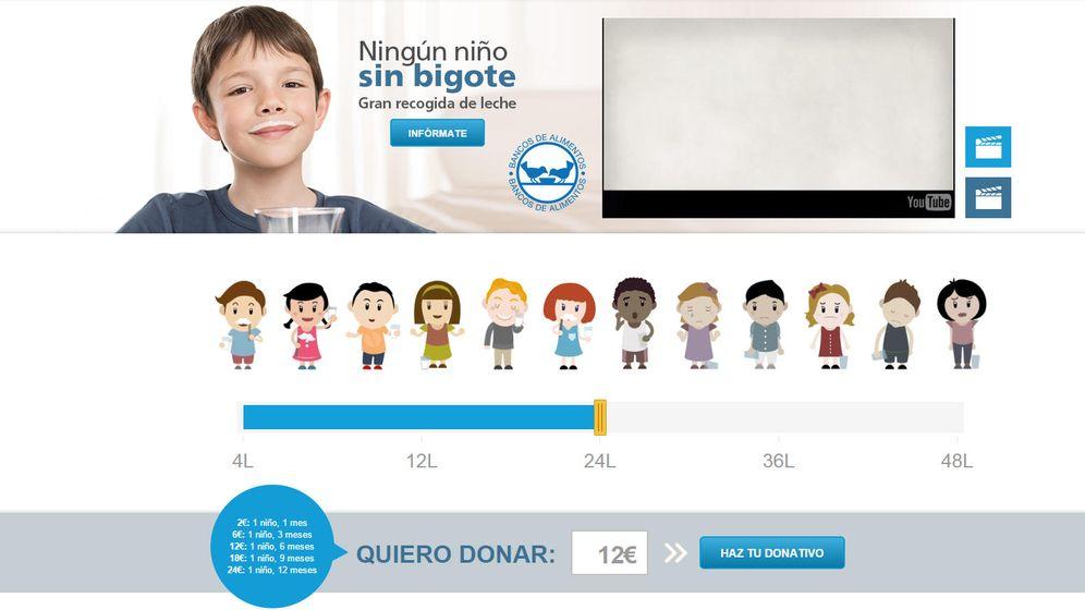 Foto: Bancos de alimentos y La Caixa impulsan una campaña de recogida de leche