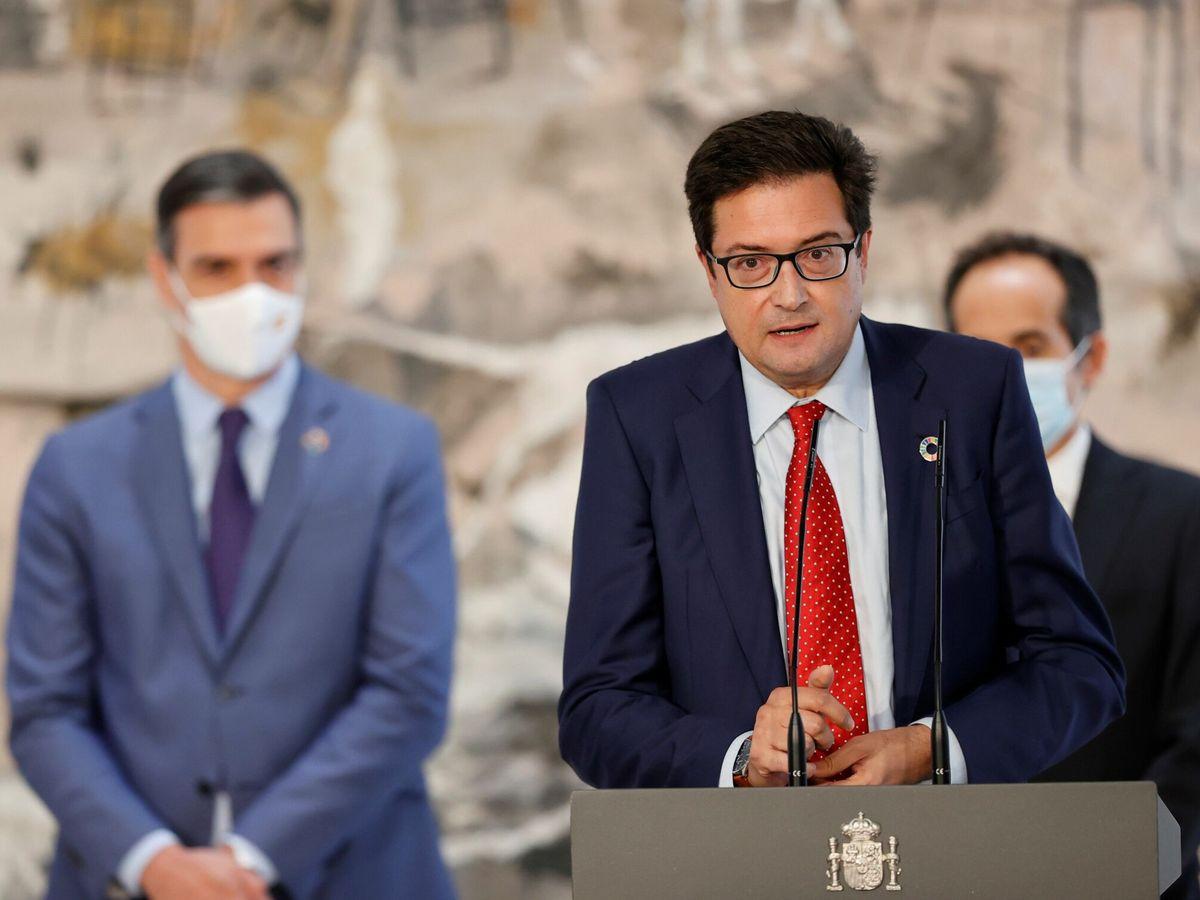Foto: El nuevo director del Gabinete de la Presidencia del Gobierno, Óscar López. (EFE)