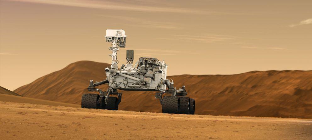 Foto: La NASA detecta misteriosos picos de metano en la atmósfera de Marte