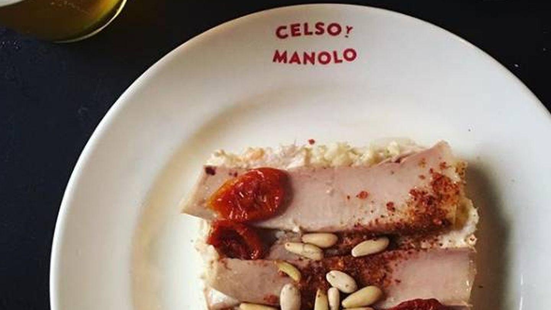 Ensaladilla de Celso y Manolo.