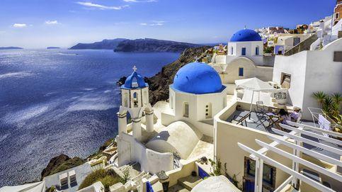 Grecia prohíbe a los turistas obesos subirse a los famosos burros de Santorini