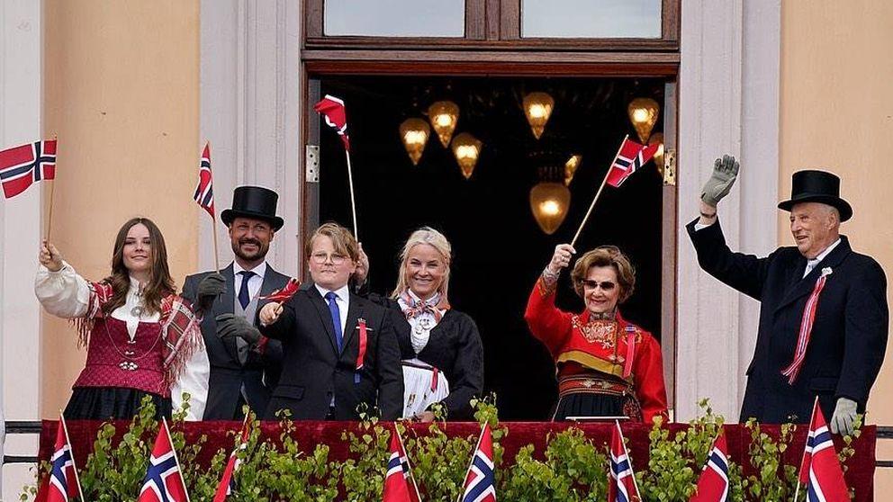 La sorpresa de la familia real noruega en el Día Nacional marcado por el coronavirus