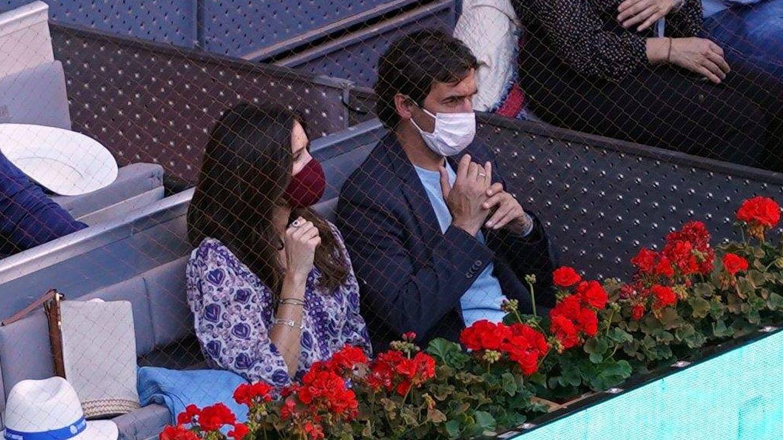 Raúl y su esposa, Mamen. (CP)