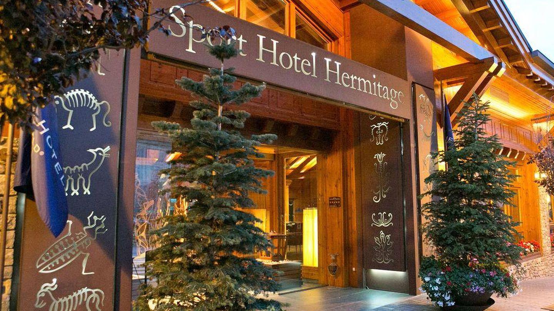 Fachada del hotel Hermitage, en Soldeu, donde se alojaron muchos invitados. (Hermitage Hotel)