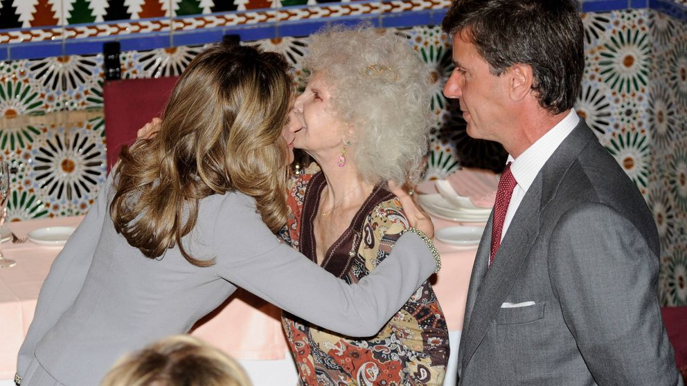 El día que Letizia cenó en Liria y la opinión que la duquesa de Alba se llevó a la tumba