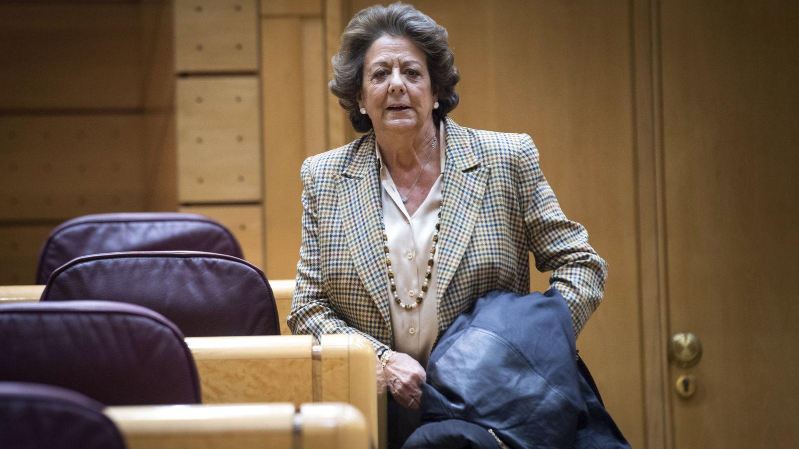 Foto: La exalcaldesa de Valencia y actual senadora Rita Barberá. (EFE)