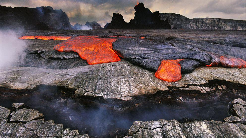 Volcán Kilauea, en Hawai: su lago de lava alcanza alturas récord