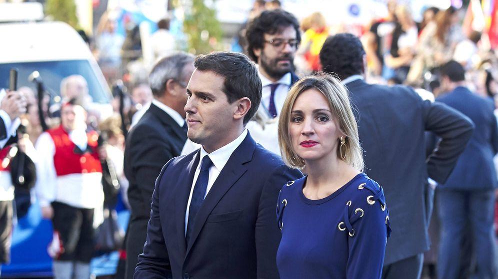 Foto: Rivera y Tajuelo, durante los Premios Princesa de Asturias. (Getty)
