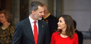 Post de Don Felipe el 'recibidor': 134 regalos más que la reina Letizia en 2018