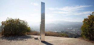 Post de Aparece un nuevo monolito en California y lo arrancan por ser