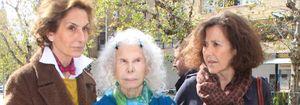 """La duquesa de Alba, contenta con la decisión de judicial sobre la custodia de su nieta: """"Se ha hecho justicia"""""""