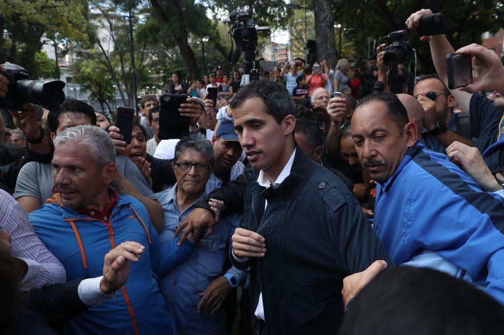 Foto: El presidente de la Asamblea Nacional de Venezuela y autoproclamado presidente interino del país, Juan Guaidó. (EFE)