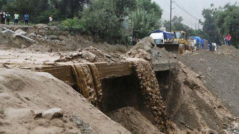 Deslizamiento de lodo en Huarochiri