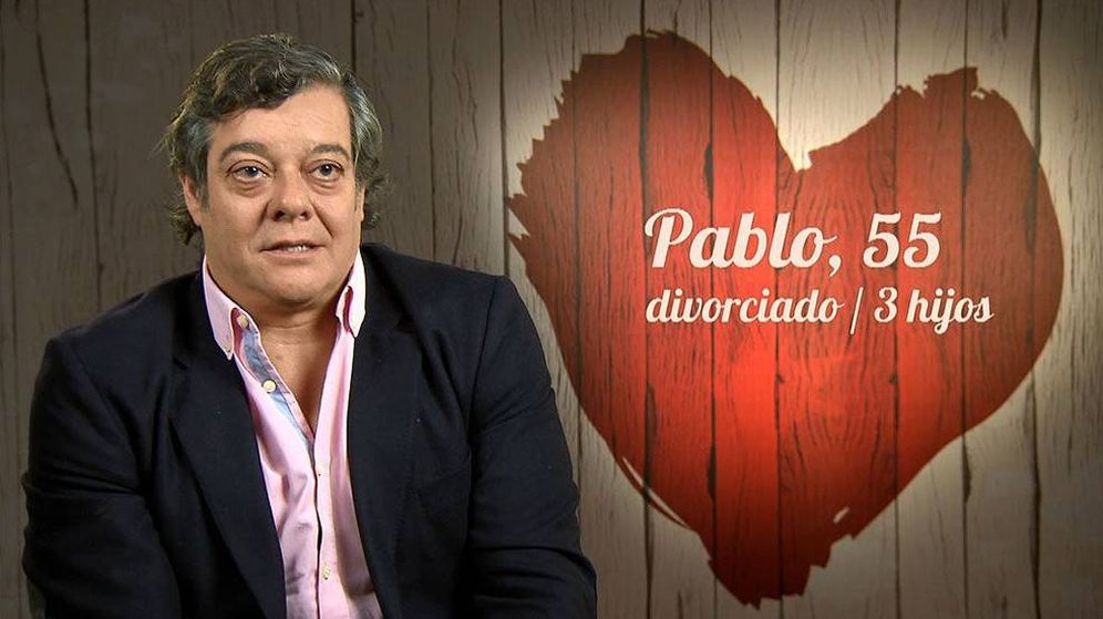 Foto: Pablo en 'First Dates'.