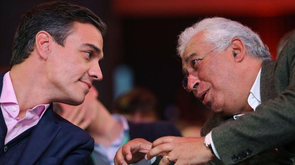Foto: Pedro Sánchez y António Costa. (Reuters)