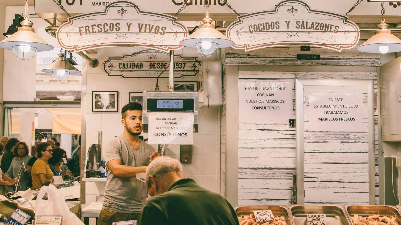 Mercado de pescado en Cádiz. (iStock)