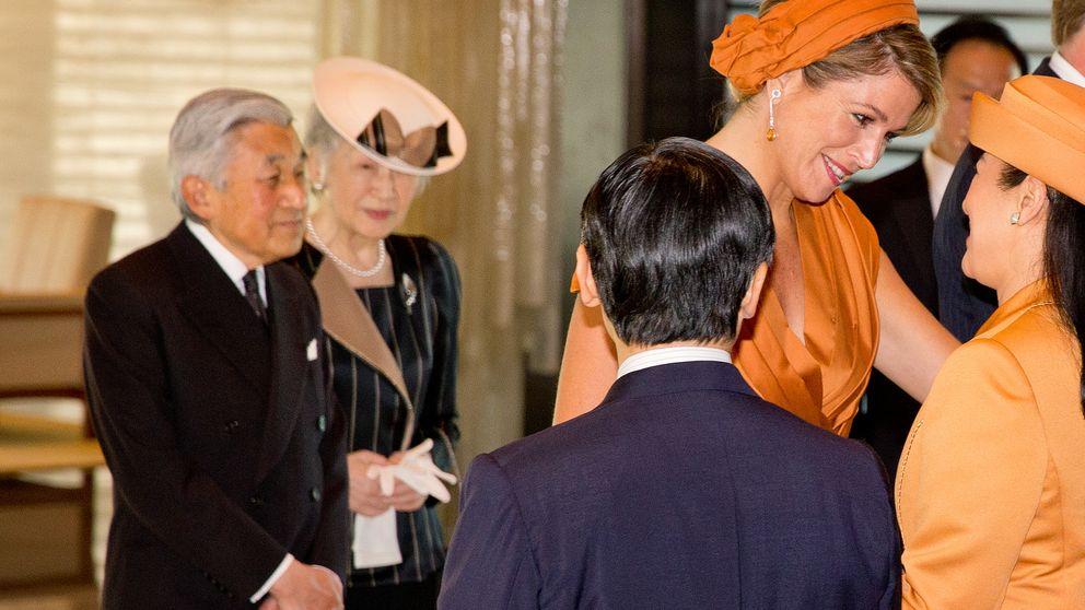 Máxima y Masako escenifican su amistad en Japón