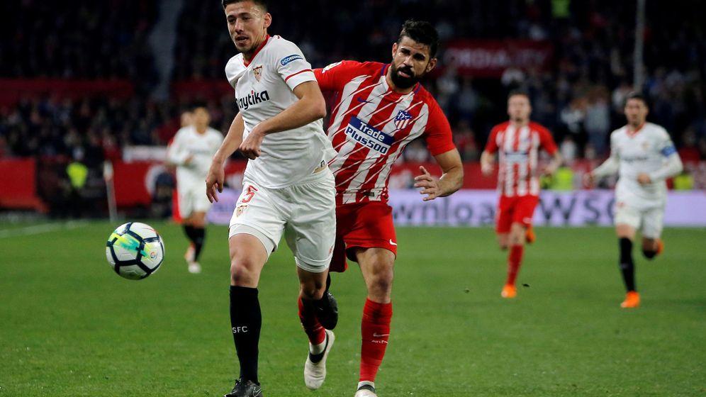 Foto: El Sevilla fichó a Lenglet en enero de 2017. Jugaba en el Nancy. (EFE)