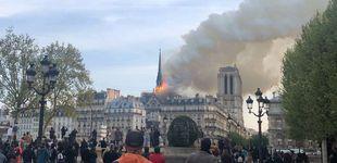 Post de Grave incendio en la catedral de Notre Dame de París