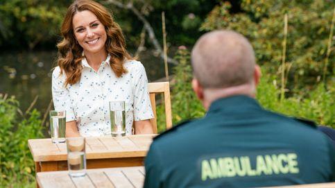 Kate, un nuevo vestido camisero y sus inseparables alpargatas 'made in Spain'