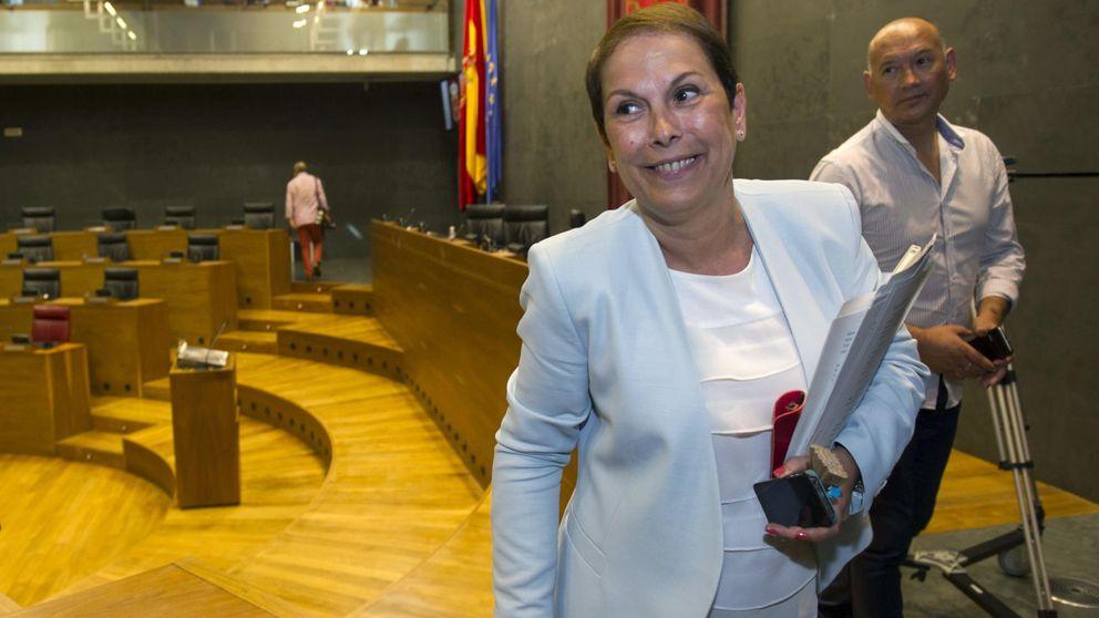 Uxue Barkos no ve que haya urgencia en hablar de unión entre Navarra y País Vasco