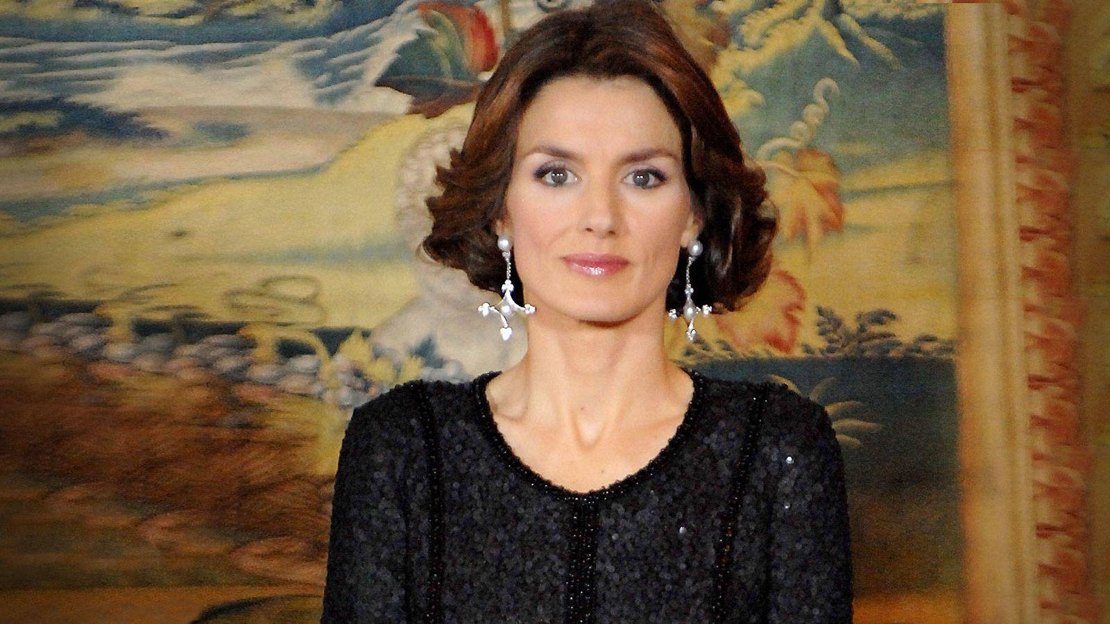 Foto:  Letizia, en el 70 cumpleaños del rey Juan Carlos (Getty)