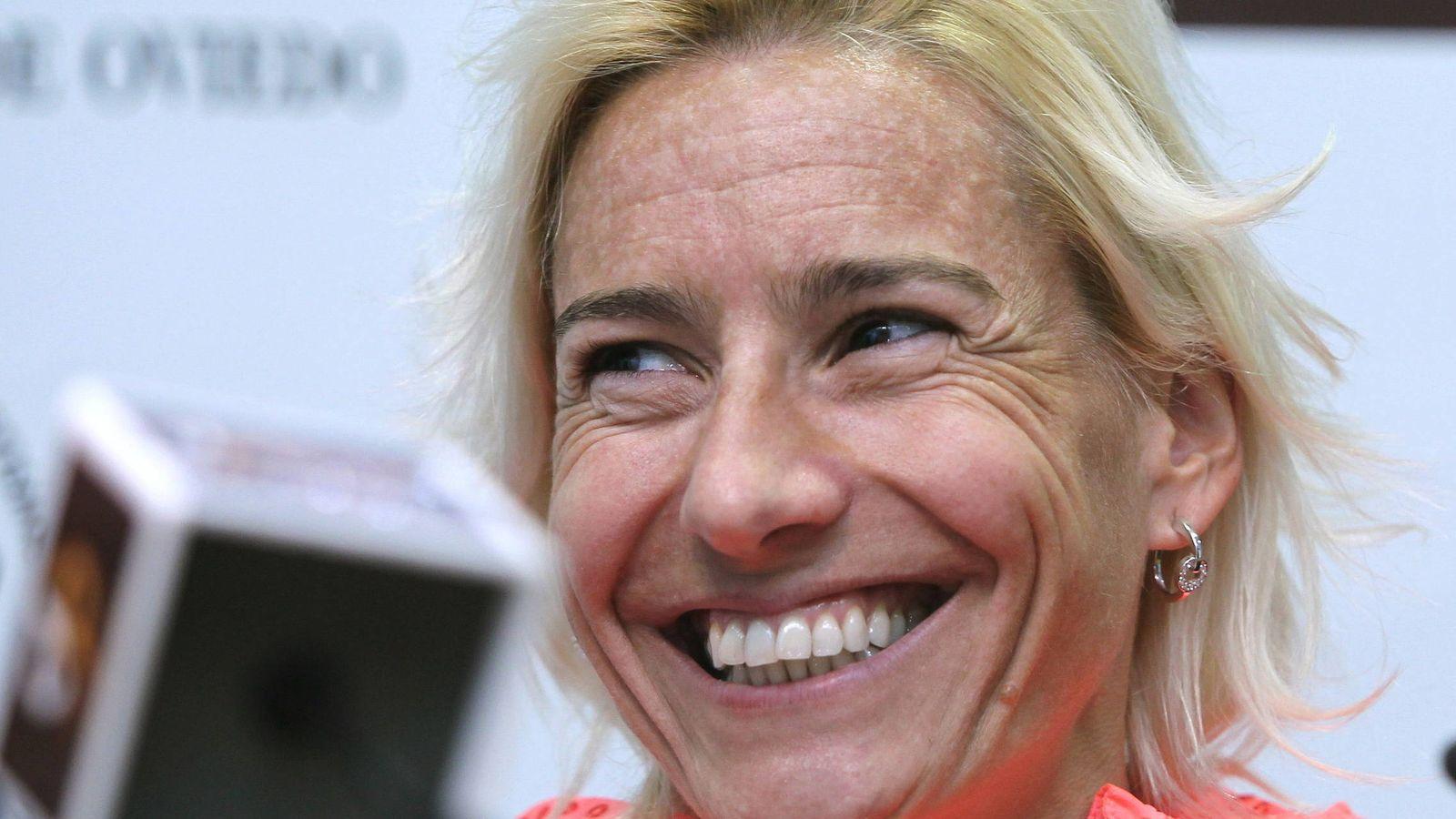 Foto: La palentina Marta Domínguez pierde la condición de deportista de alto nivel (Efe).