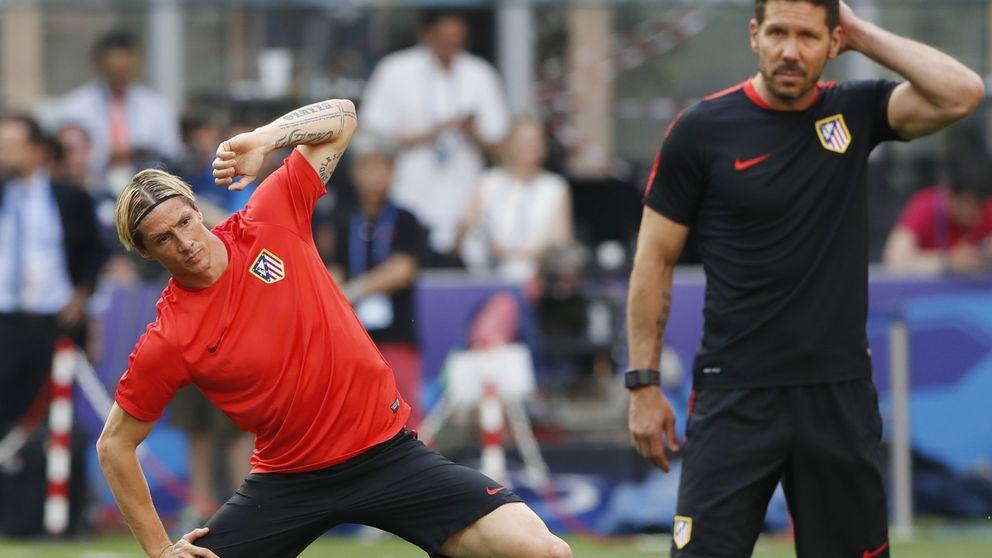 Simeone rota con Torres porque no se puede permitir tenerle descontento