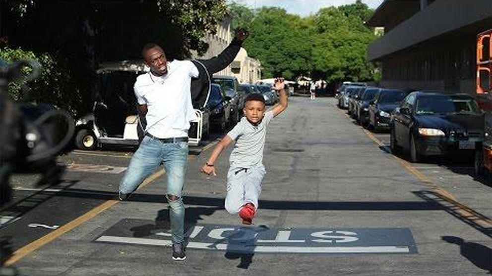 El niño que derrotó a Usain Bolt