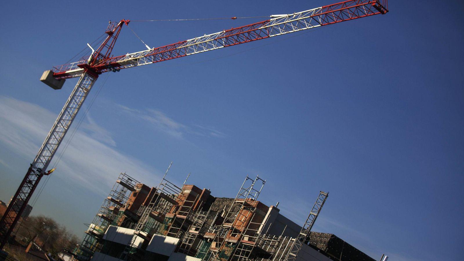 Foto: Promoción de viviendas en construcción. (Reuters)