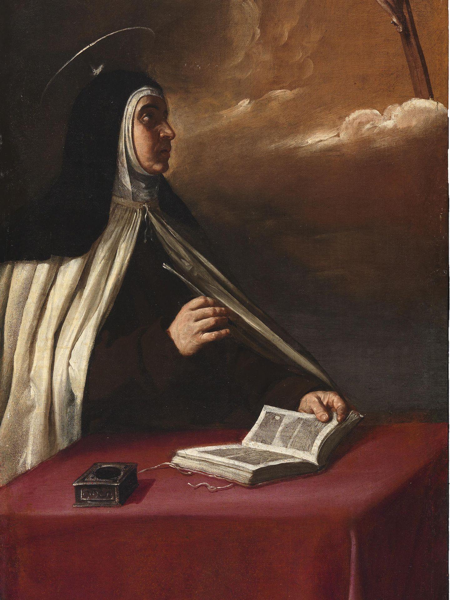 'Aparición de Cristo crucificado a santa Teresa de Jesús', de Alonso Cano (1629)