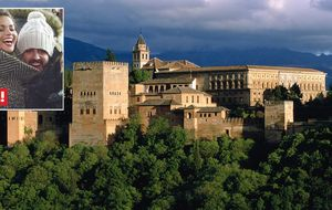 El fin de semana de Fernando Alonso y Lara en Granada
