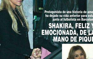 Foto: Kiosco rosa: Shakira y Piqué