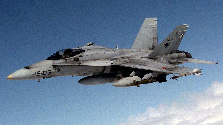 EF-18 español. (Foto: Wikimedia)