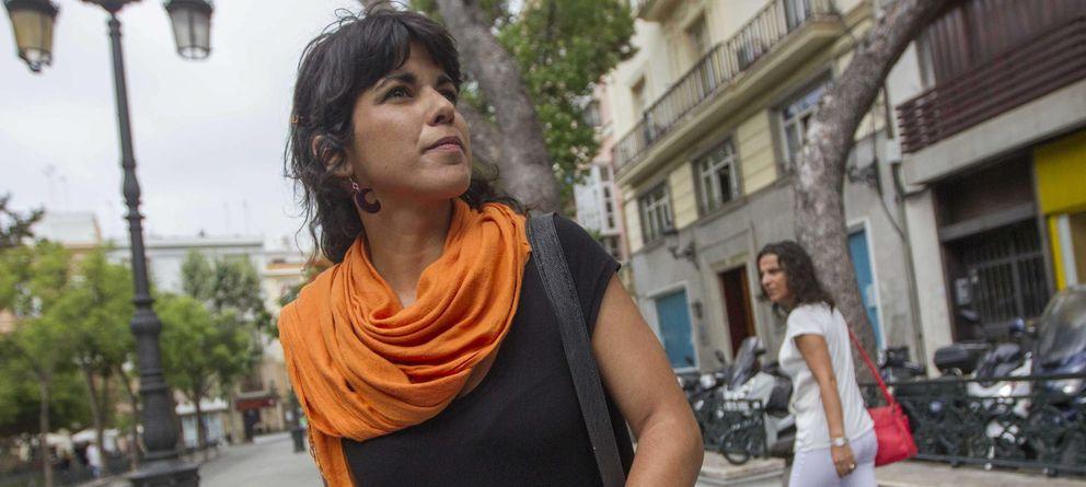 Foto: Teresa Rodríguez, candidata de Podemos a la Junta de Andalucía (EFE)